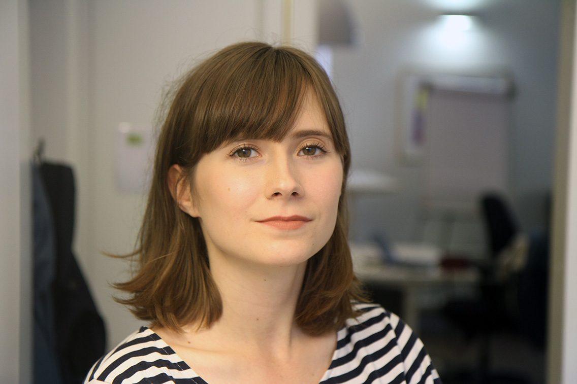 CMI:n viestintäassistentti Saarlotta Virri.