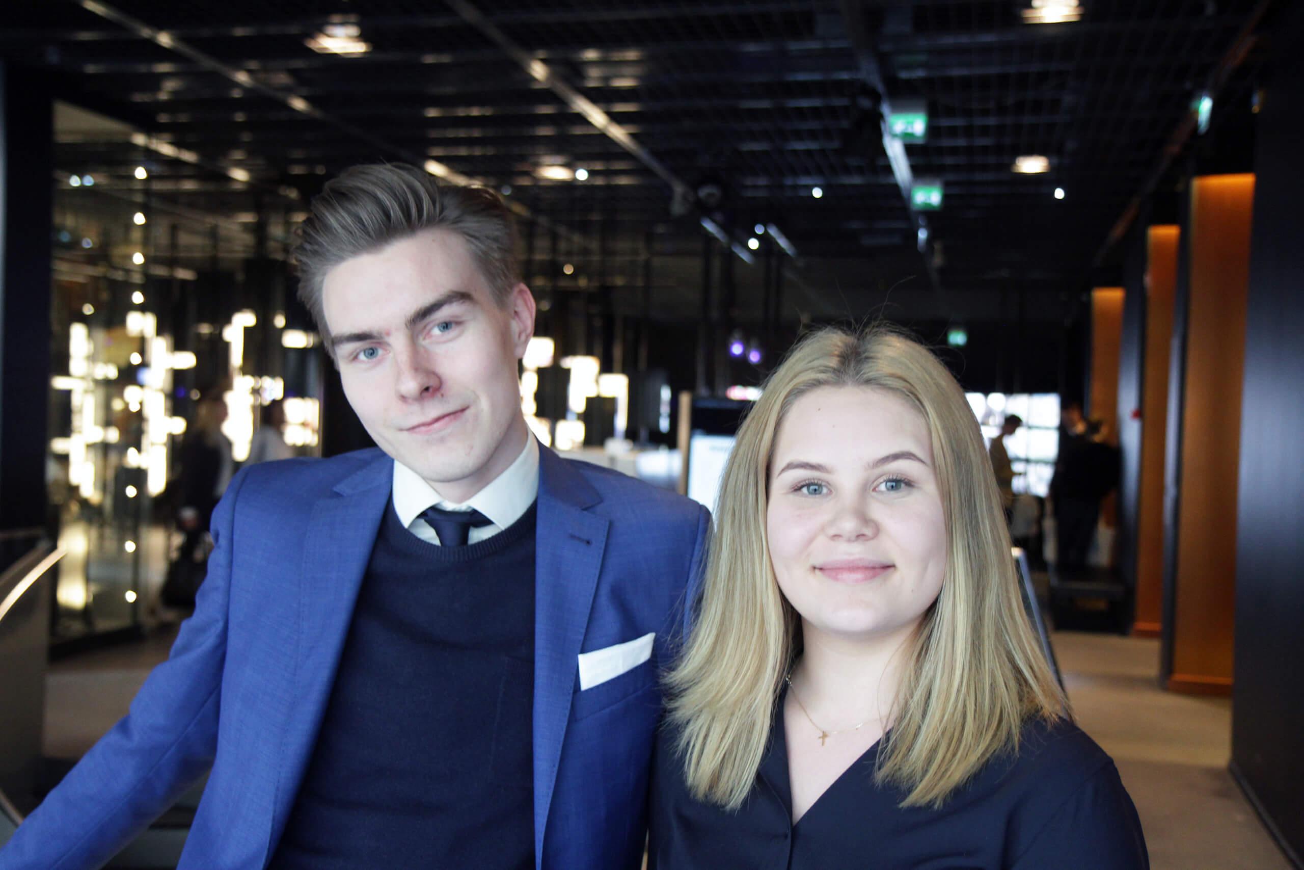 Lauttasaaren yhteiskoulun oppilaiden Olli Härkäsen ja Nea Männyn mukaan mestariluokka oli ainutlaatuinen ja hieno kokemus.